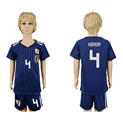 2018 World Cup Japan National Team #4 Soccer Jersey Kids/Youths Size