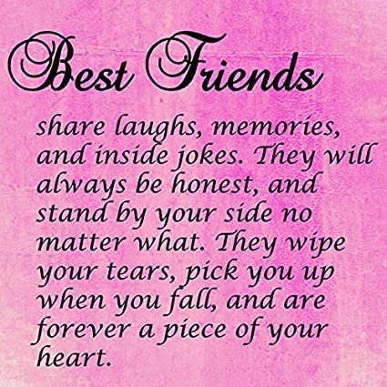 Amazoncom Best Friends Quote 6x6 Mini Canvas Gallery Wrap It Can