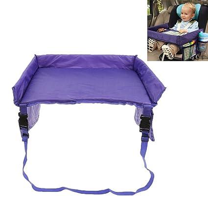 Mesa bandeja de viaje para bebés para asientos de coches y carritos. Con