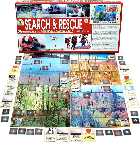 Family Pastimes Search and Rescue - A Co-operative Adventure -