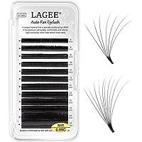 LAGEE Wimperverlenging Volume wimper 0.05 C 8-15mm Easy Fan Eyelash Extensions Cluster Rapid Automatische Bloeiende…