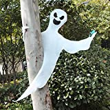 "JOYIN 53"" Halloween Bendable Tree Wrap Ghost for"