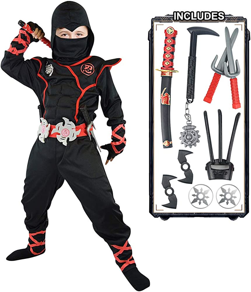 Ninja Costume for Boys Kids