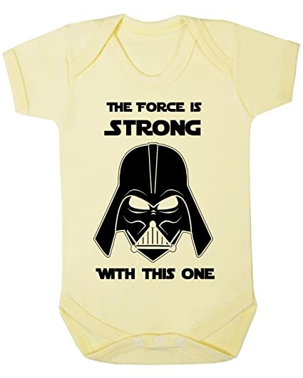 The Force is Strong with this one Star Wars Novedad bebé chaleco de pijama, novedad