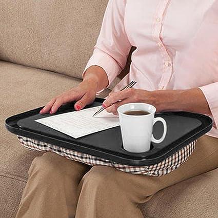 dinglong portátil portátil escritorio Cama ordenador portátil cojín rodillera Lap ordenador de lectura mesa bandeja elefante