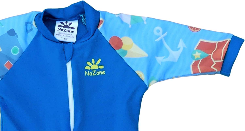 Nozone Fiji One-Piece UPF 50 Baby Swimsuit in Fun Prints UV Sun Protection