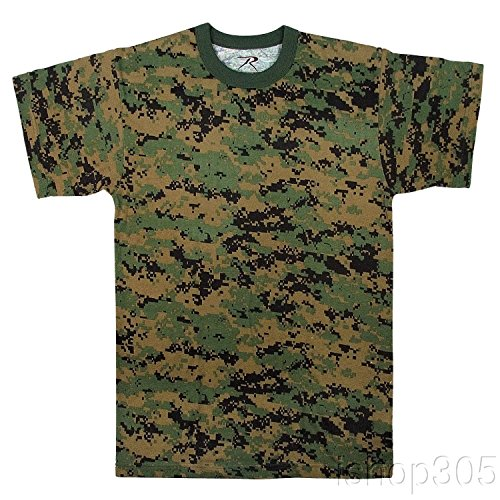 Rothco T-Shirt/Woodland Digital Camo - XX-Large