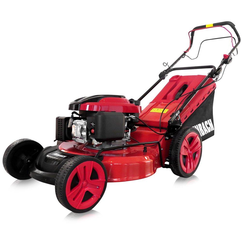 Bach rojo 4-in-1 de gasolina cortacésped cortadoras gasolina ...