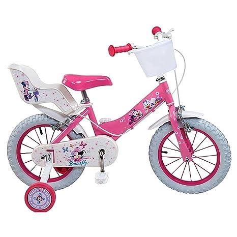 Bicicletta Ufficiale Minnie 16 Pollici Disney Bambino Ragazza