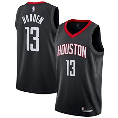 c69e9e407e5 Majestic Athletic Men s James Harden  13 Houston Rockets Swingman Black  Jersey ...