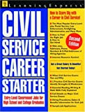 Civil Service Career Starter, LearningExpress Staff, 1576853020