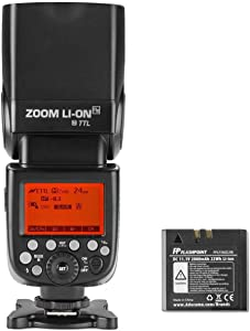 Flashpoint Zoom Li-ion R2 TTL On-Camera Flash Speedlight for Nikon (V860II-N)