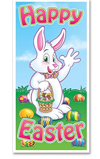 Amazon Com Happy Easter Door Cover Health Personal Care