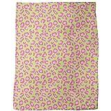 Leopard Animalprint Lime Blanket: Large