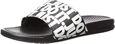 Nike Benassi JDI Print Just Do It Sport Slides Sandalias Hombres