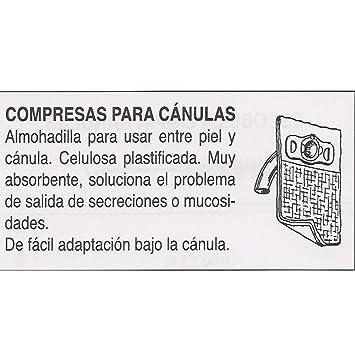 Traqueotomia Compresa Para Cánula-Bolsa 6 Ud: Amazon.es: Salud y cuidado personal