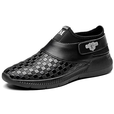 Casual para Hombre de Cuero Primavera/Otoño/Invierno Slip On y Mocasines Zapatos de