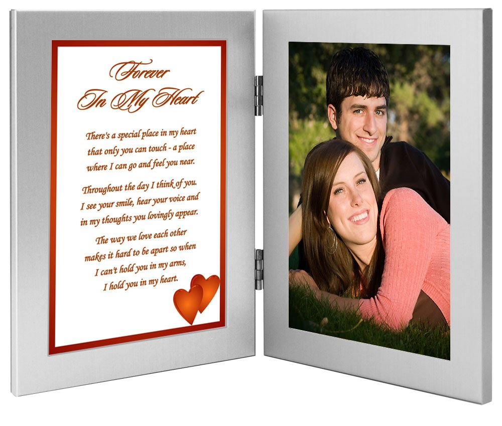 ''Forever In My Heart'' Romantic Gift for Wife, Husband, Girlfriend, or Boyfriend, Birthday, Christmas or Anniversary - Add Photo by Poetry Gifts (Image #3)
