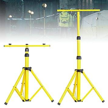 Trípode telescópico para proyector de doble cabeza, 160 cm ...