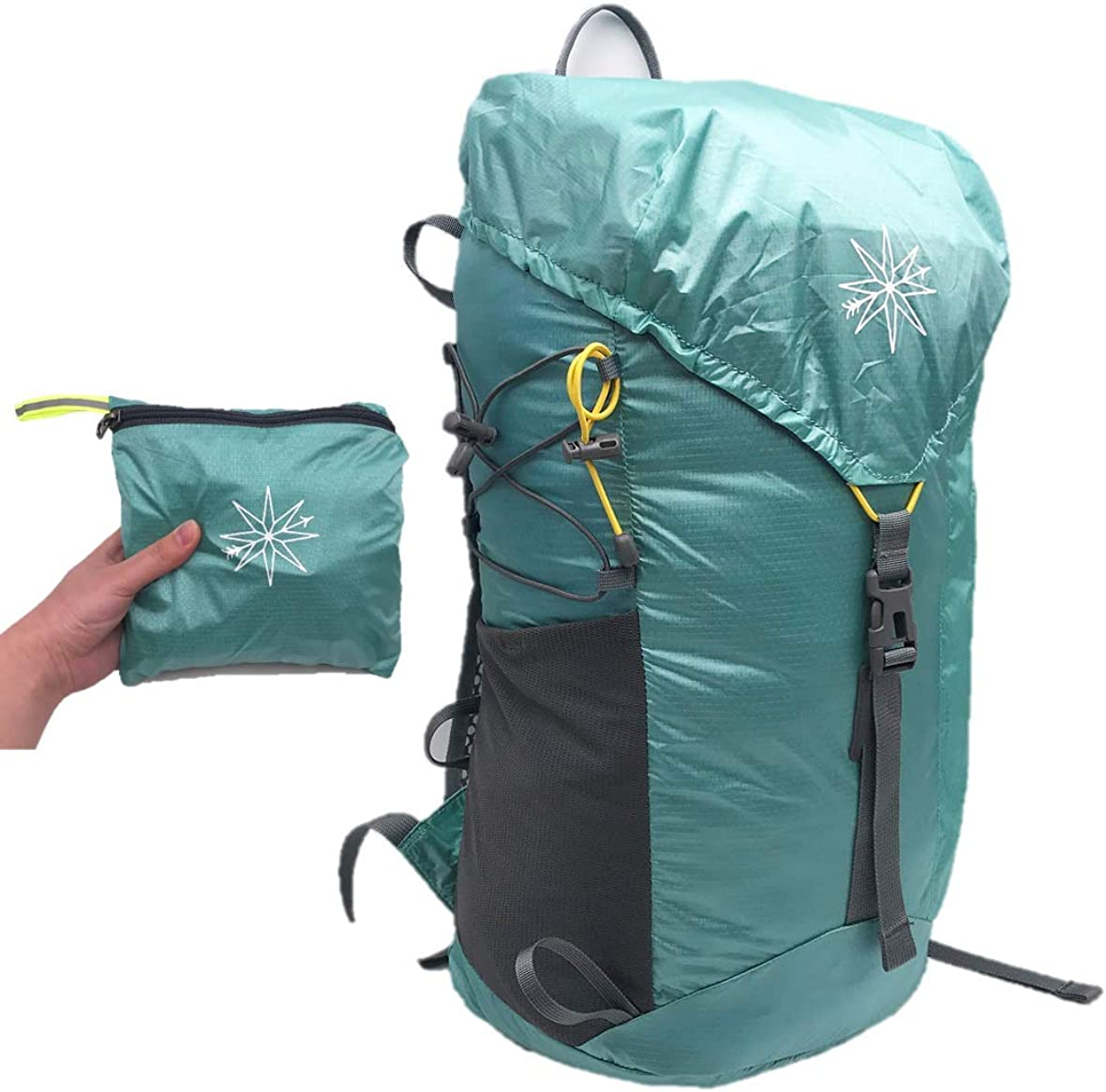 Compass Outdoors Hiking Daypack- 30L Ultralight and Packable Backpack