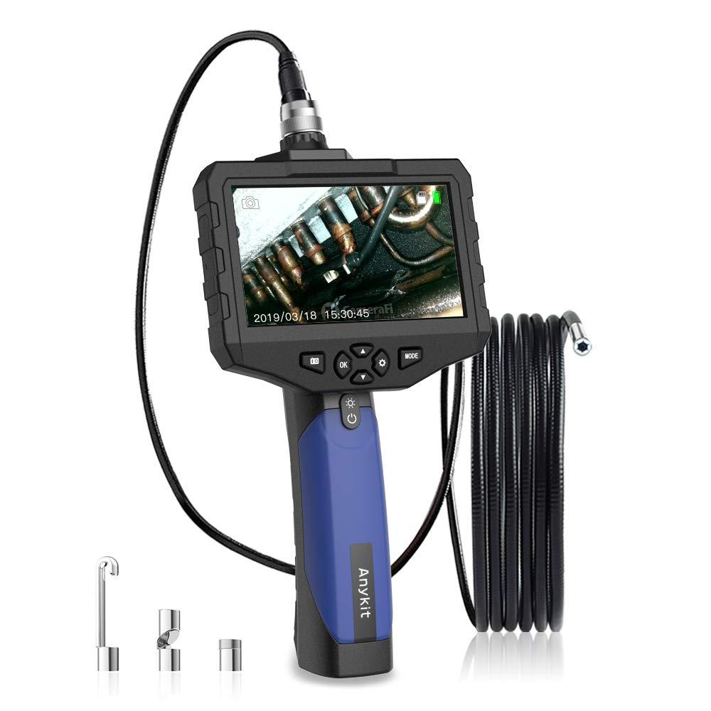 ファッション Anykit (5.5mm-3m) SDカード対応式工業内視鏡 COMSカメラ搭載エンドスコープ 100万画素スネークカメラ 4.3インチの大型液晶モニター IP67防水レンズ LEDライト付き内視鏡 写真撮りやビデオ録画対応 自動車保守点検、配管内部点検、空調設備内部点検などに対応され (5.5mm-3m) B07PYQD471, s.f.selection:9c4a00ba --- mfphoto.ie