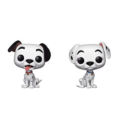 Funko Pop! Disney 101 Dalmations Pongo and Perdita PIAB Exclusive 2 Pack: Toys & Games