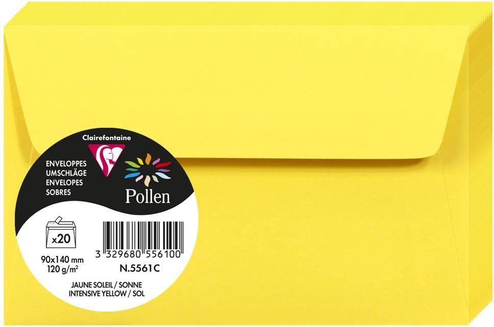 Enveloppe  Pollen 90x140 lilas pqt 20
