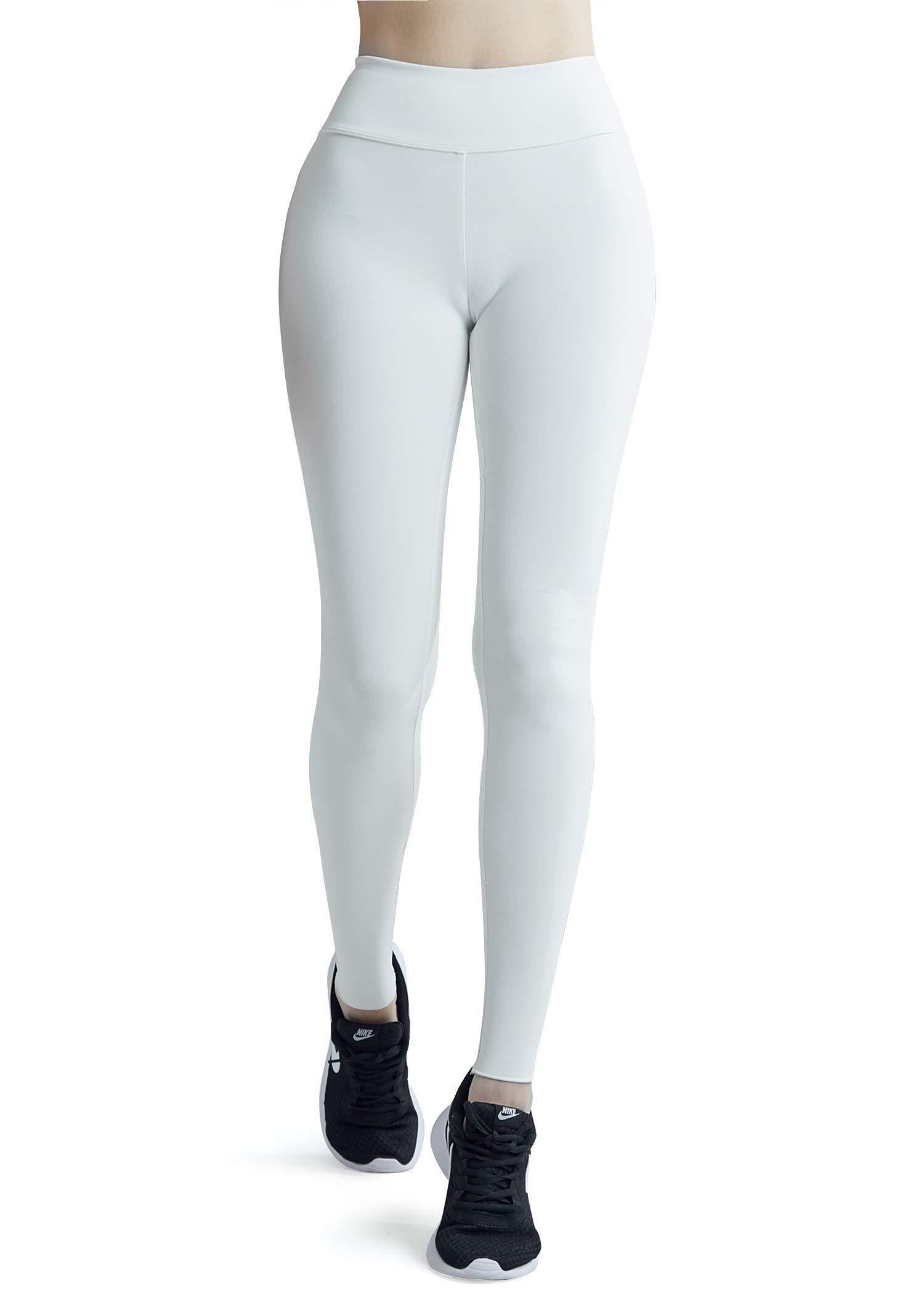 9190f44f766da Wirezoll Pantalon Yoga Taille Mi Haute Legging Sport Femme Fitness Gym  Pilates Pantalon de Sudation