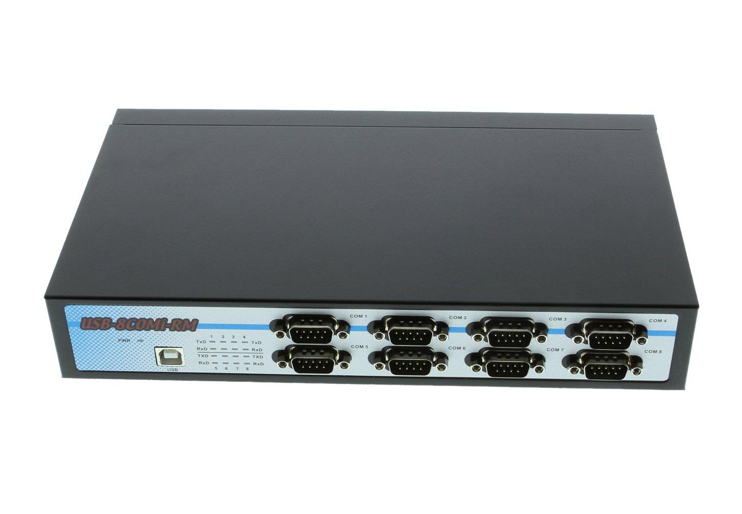 SerialGear 8 Port USB to Octal RS-232/422/485 Adapter