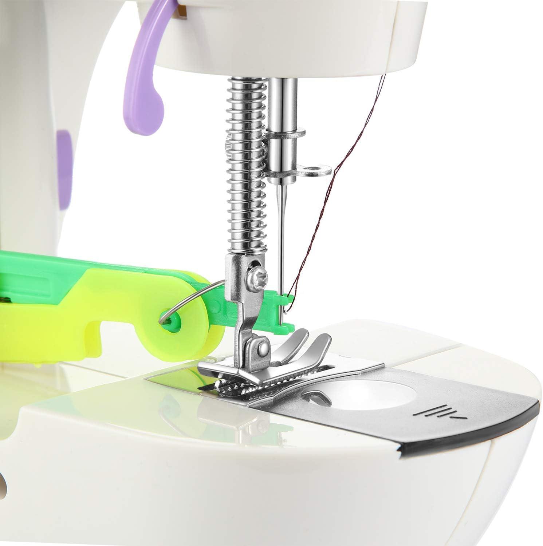 Hpamba Insertion Enfileur Enfille Aiguille Machine /à Coudre Outil Filetage lAiguille Machine Aiguille Inserter Filetage Automatique Aiguille Filetage Outil Facile Dispositif Daiguille /à Coudre 4PCS
