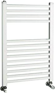 Cordivari Lisa 22 Hydronic Towel Warmer Straight 24''x28'' w/Valve kit