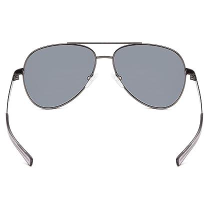 f4fbcd3639 ... GAMMA RAY TITANLITE Tomcat Polarized UV400 Titanium Aviator Sunglasses  in Nickle Free Hypoallergenic Frame ...