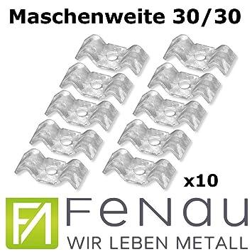 /Ø12 mm GAH-Alberts 802271 Wandhaken verzinkter Stahl doppelt abgewinkelt 120 x 330 x 90 mm // 1 St/ück