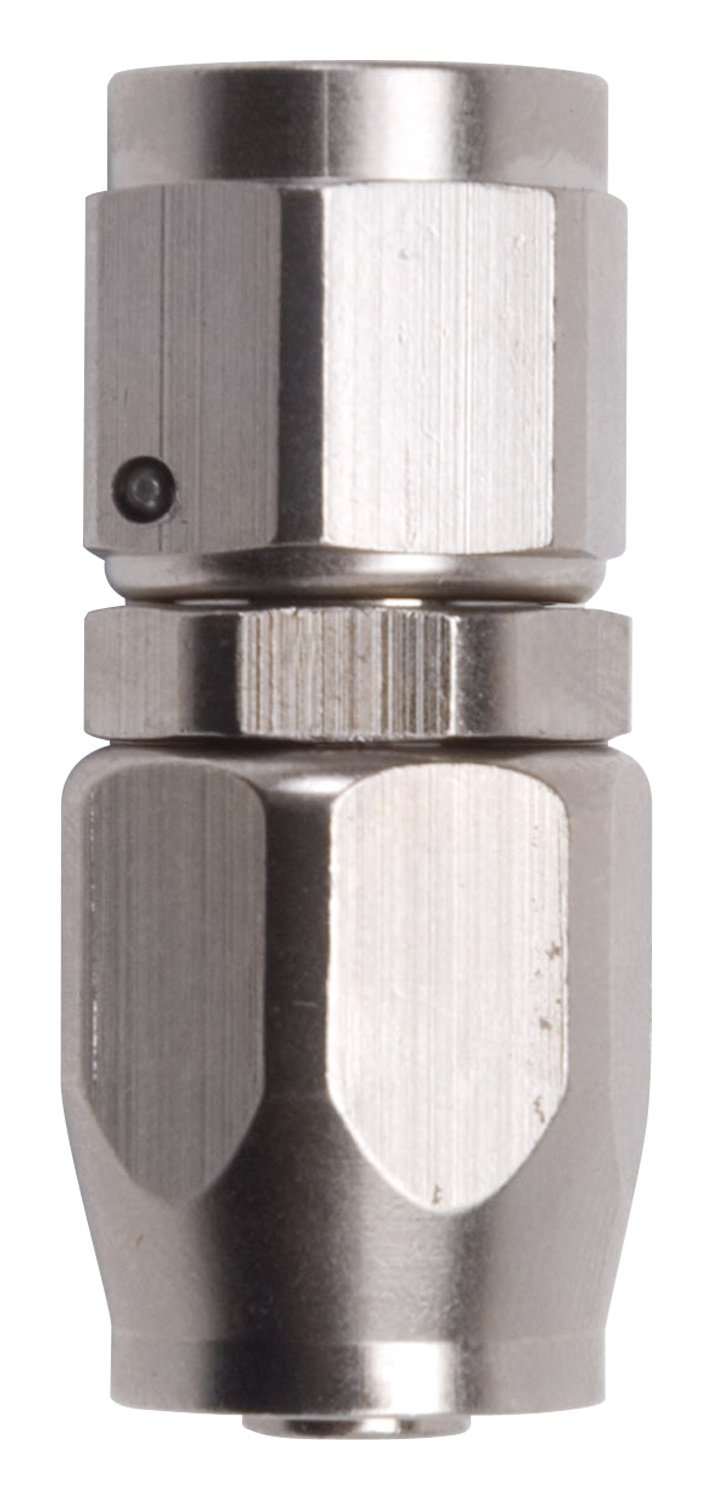 Russell 610041 Endura Anodized Aluminum -10AN Straight Hose End