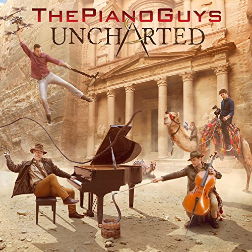 CD : The Piano Guys - Uncharted (With DVD, Deluxe Edition, 2 Disc)