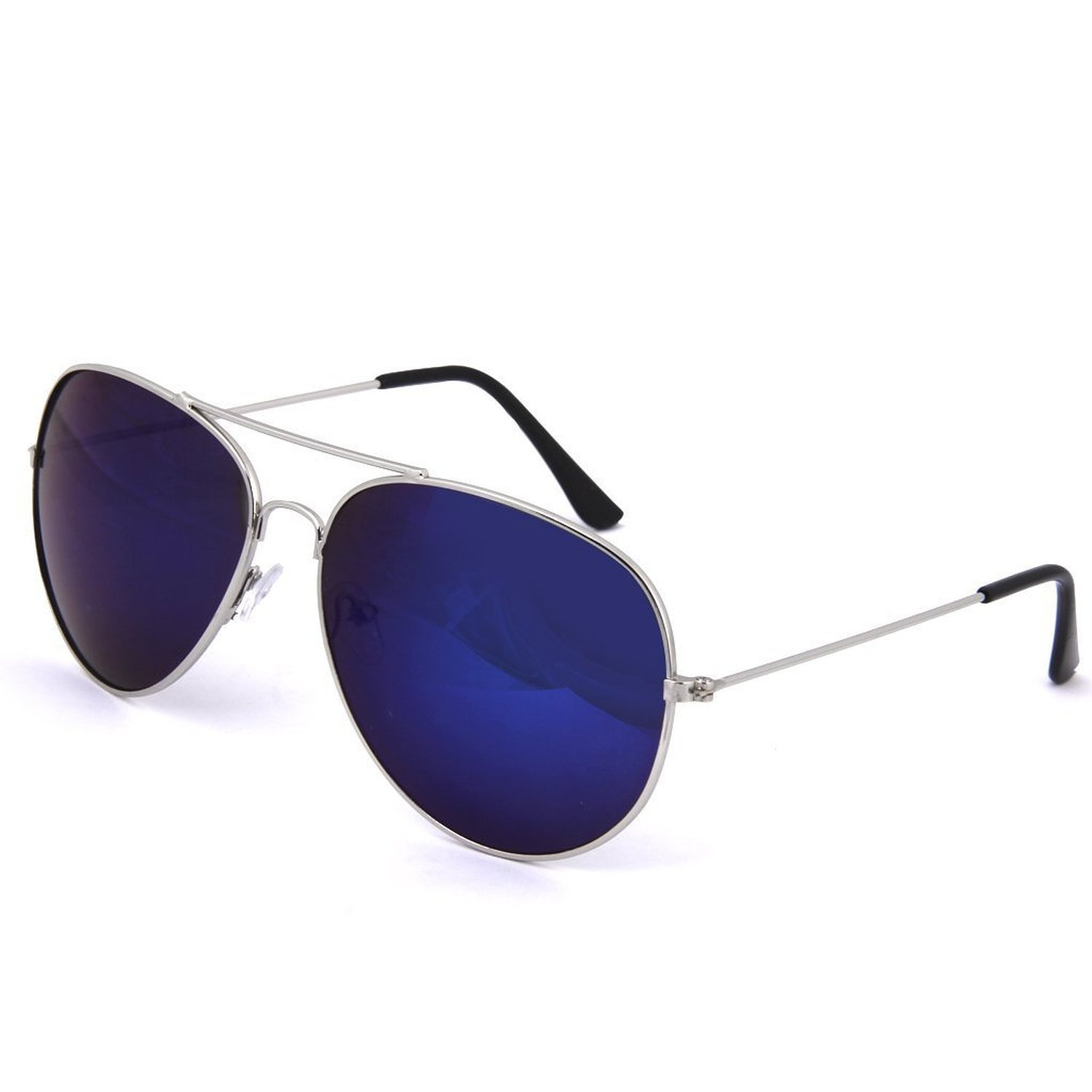 807ff7cd3c3 SHEOMY COMBO OF STYLISH GOLDEN SILVER MERCURY AVIATOR AND SILVER BLUE MERCURY  AVIATOR SUNGLASSES WITH 2 BOX Best Online Gifts  Amazon.in  Clothing   ...