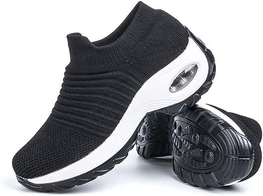 Zapatillas Deportivas de Mujer Zapatos Running Fitness Gym Outdoor ...
