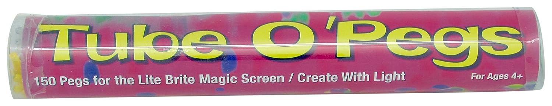 Tube O Lite Brite Pegs for Magic Screen 150 round pegs