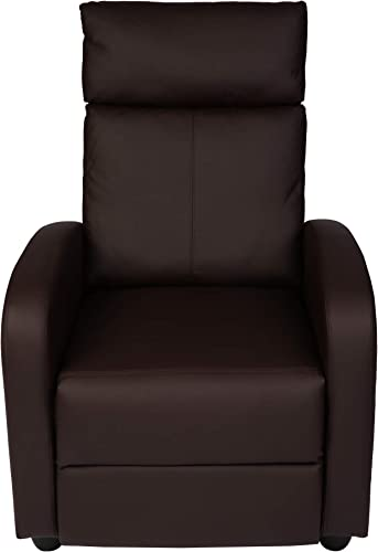 Recliner Chair PU Leather Recliner Sofa Living Room