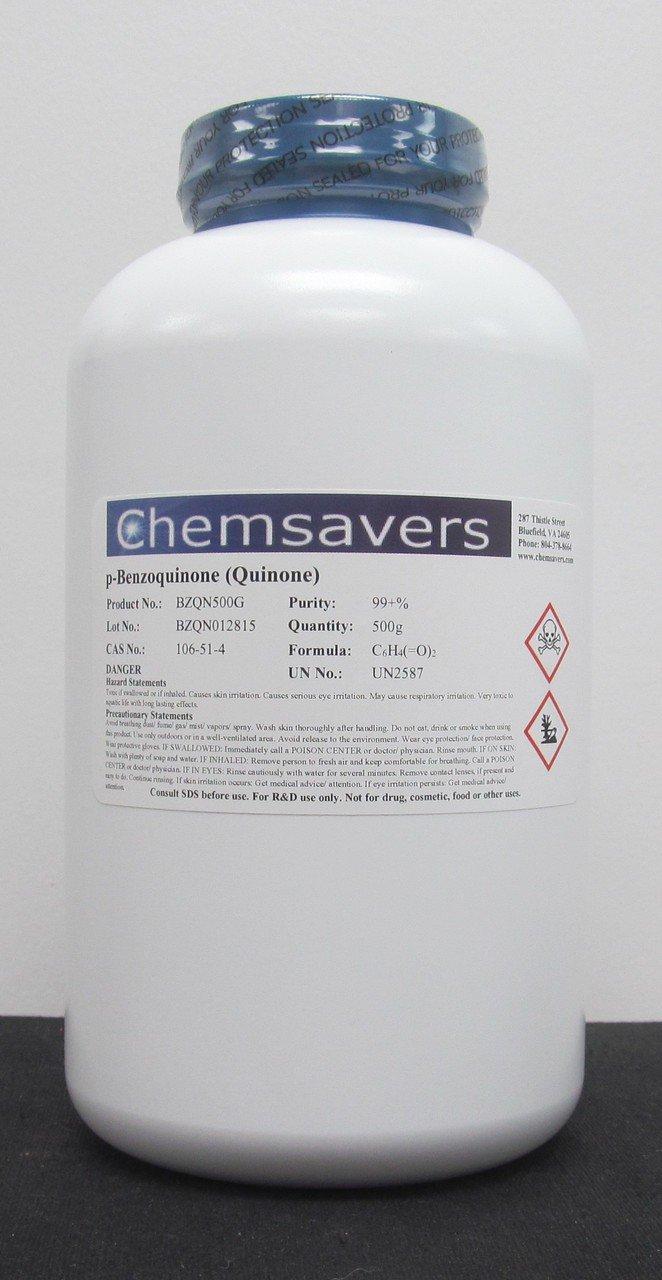 p-Benzoquinone (Quinone), 99+%, 500g