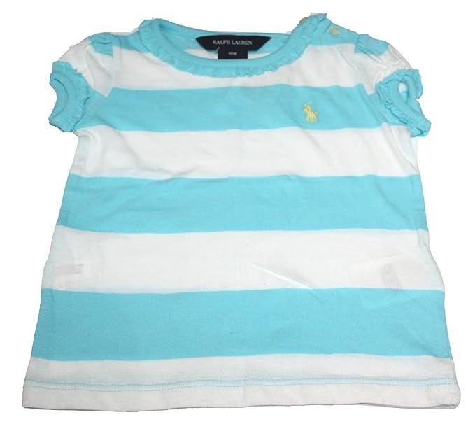 Polo Ralph Lauren - Camiseta - para bebé niña Azul Azul 18 Meses ...