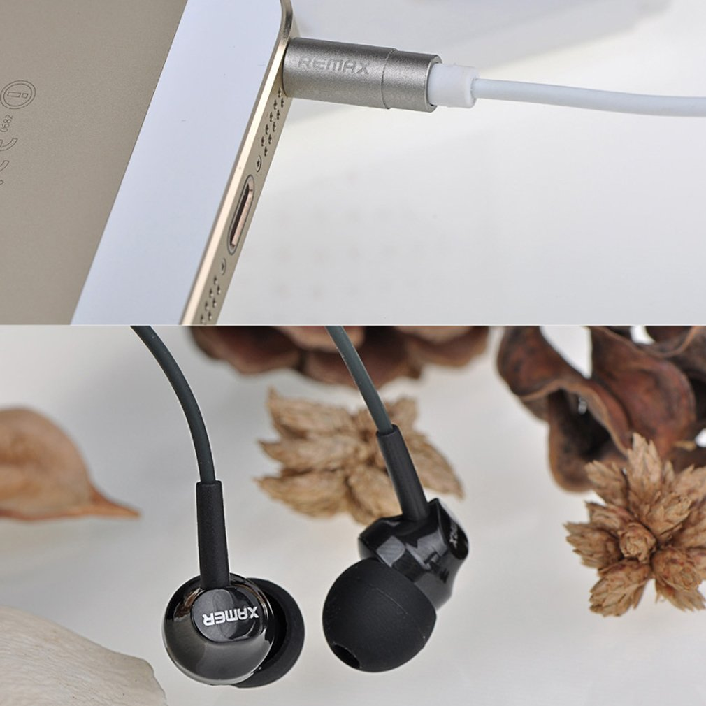 Earbuds Granvela Remax Rm 501 High Performance Earphone With Microphone Headset Handsfree Headphones In Ear Stereo And Super Bass Noise Isolation Tangle Free