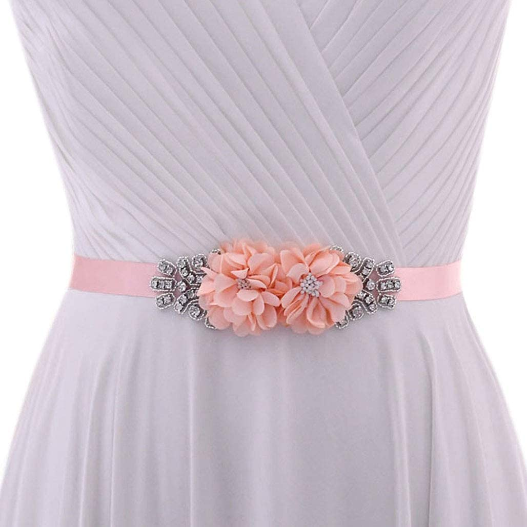 Azaleas Belt for Women Belt Rhinestone Belt with Flowers Belt Wedding Bridal Accessories (S458)