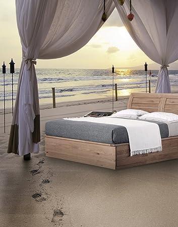 5x7ft Bett Am Strand Meer Fotografie Hintergrund Amazon De Elektronik