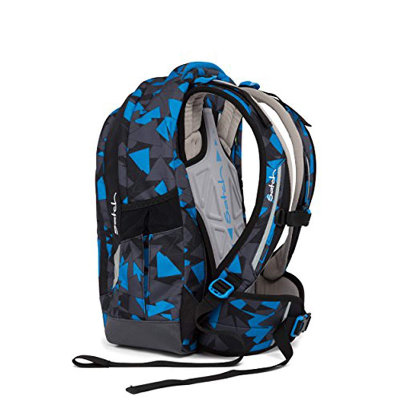 Blue Triangle Schulrucksack 3tlg Satch Sleek by Ergobag Set