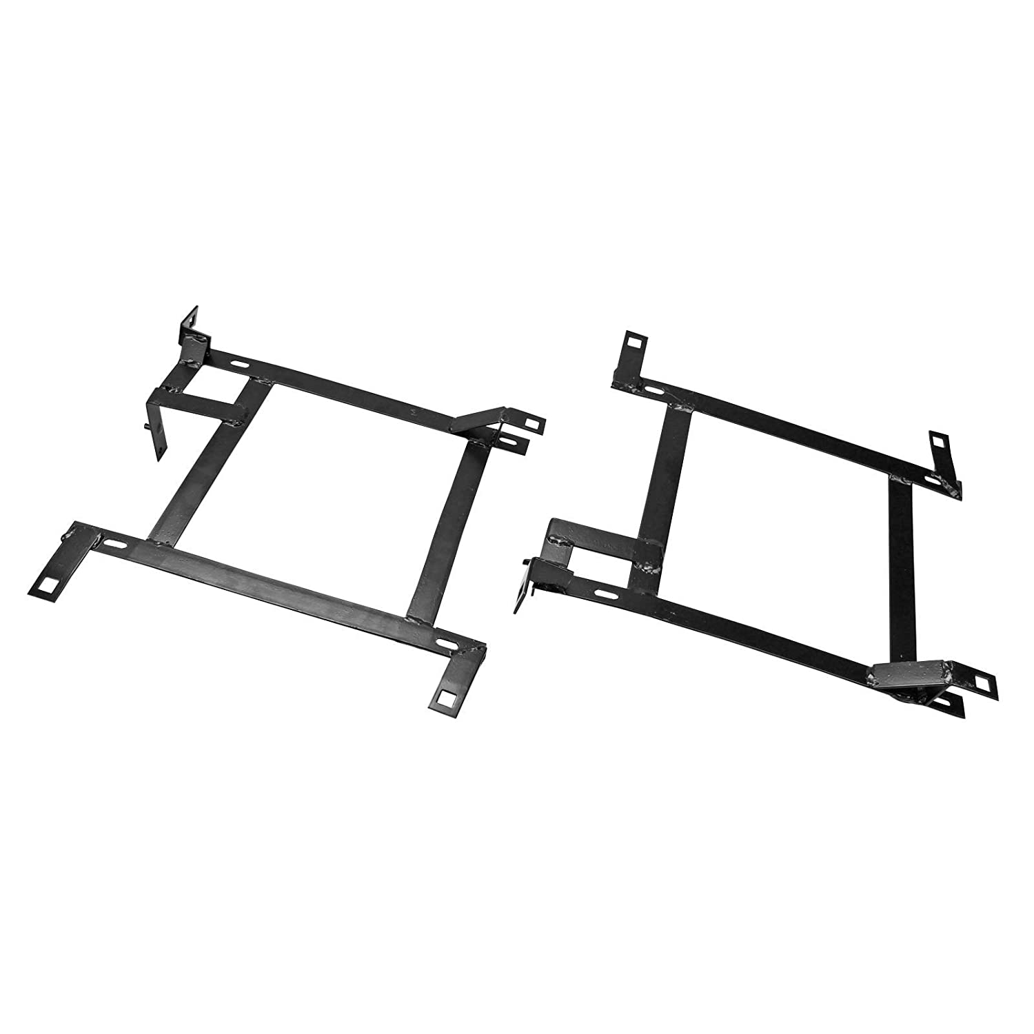 For 1989-1998 Nissan 240SX S13 S14 Driver /& Passenger Sides Pair Of Racing Seat Mounting Brackets Rail Track Left /& Right