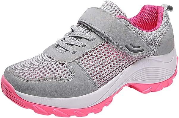 HLIYY Femme Basket Mode Chaussures de Sport Course Running