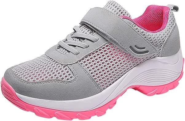 Vectry Moda Mujer Deporte Casual Malla Correr Transpirable Zapatillas Zapatillas Deportivas para Exterior: Amazon.es: Zapatos y complementos