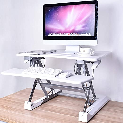 WTT Sit Stand Desk PC Workstation Mesa Ajustable en Altura ...
