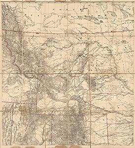 Case Map U S West Of Mississippi R 2 1879 Historic Antique Vintage Map Reprint
